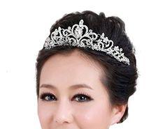 Jesming® Bridal Wedding Tiara Crown JESMING http://www.amazon.com/dp/B01361O1PY/ref=cm_sw_r_pi_dp_TPc4vb0YFRJ1B