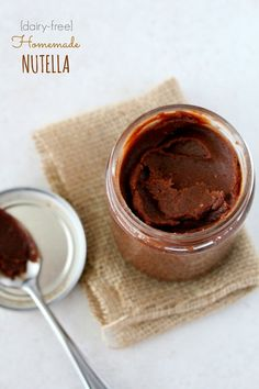 homemade nutella (dairy free)