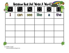 Little Miss Kindergarten, really awesome blog.. Love the literacy ideas