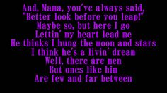 The Judds Mama He's Crazy Lyrics .I have been and still am crazy over a beautiful woman I met last year in mid august 2014. And I love her with every fibre in my body..