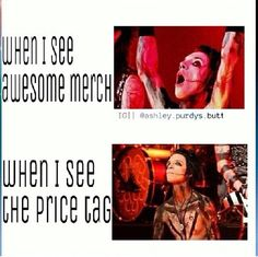 Band merch meme