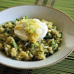 Quinoa and Asparagus Salad Recipe