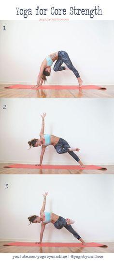 Pin now, practice later to improve your core strength Wearing:Kira Grace leggings,Reebok bra.