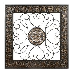 Metal Wall Plaque bronze embossed medallion metal wall plaque | kirklands | new home