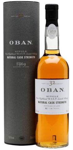 Oldest Oban​ ever bottled is a 32 year old vintage 1969 from the 2003 Special Releases. What a classic and beautiful western Highlands dram.... http://maltandoak.com/the-oldest-and-rarest-oban-ever-32-year-old-vintage-1969/