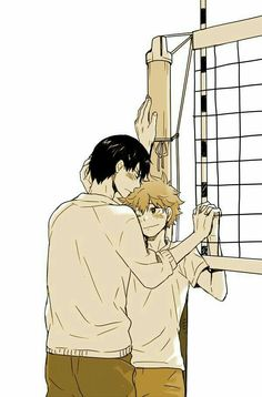 Discovered by Tabi. Find images and videos about haikyuu, hinata and kageyama tobio on We Heart It - the app to get lost in what you love. Haikyuu Kageyama, Manga Haikyuu, Hinata Shouyou, Haikyuu Funny, Haikyuu Fanart, Comic Anime, Manga Anime, Kagehina Cute, Anime Lindo