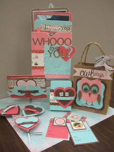 Super Cute Valentine's Day project from Melissa Oliveira. (link goes to general gallery)