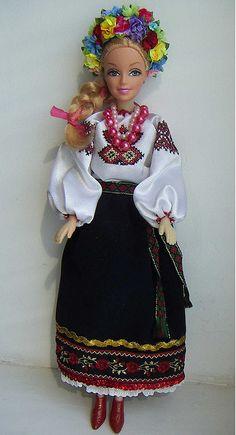 Ukrainian Barbie Doll , from Iryna