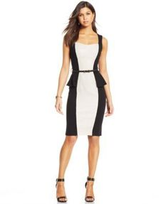 XOXO Juniors' Peplum Sheath Dress | macys.com