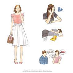 : 『40歳からの「永遠の美」を手に入れる方法』のカバーイラスト Illustrators, Disney Characters, Fictional Characters, Profile, Summer Dresses, Disney Princess, Women, Fashion, User Profile
