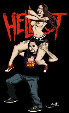 #Hellfest Girl ! :D #Rock Metal #Clisson