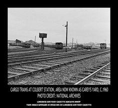 COLBERT RAILWAY STATION, CAREY'S YARD, 1960