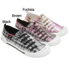 Rocket Dog Women's Geek Squad Plaid Shoes.   Soooooooooo great, multiple colors!