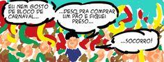 RABISCOS ENQUADRADOS: QUADRINHO CASUAL EM RITMO DE CARNAVAL (RIMOU)