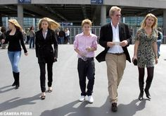 Earl Spencer & Family