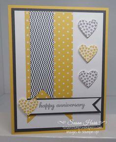 Hearts a Flutter, SUO, Stampin Up, Susanstamps.wordpress.com