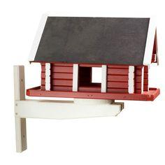 Dette fuglehuset er laget på snekkerverkstedet vårt i Andebu. Tweet
