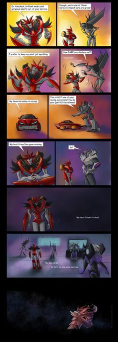 And THAT'S why Knockout joined the Autobots. 'Cause the 'Bots DO care about their own. Right decision, Doc Knock.