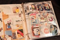 How to organize magazine clippings: letters #t2hmkr