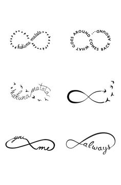 TATTIFY  'Infinity Moods' Temporary Tattoos available at #Nordstrom