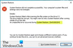 System Restore error 0x81000204 Windows Image, Windows System, Computer Hard Drive, Computer File, System Restore, Pc Repair, Filing System, Fix You