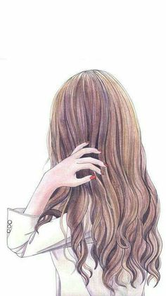 Fashion Illustration Watercolor Face Hair Ideas For 2019 Face Sketch, Girl Sketch, Sketch Painting, Drawing Sketches, Drawing Faces, Art Drawings, Drawing Girls, Art Faces, Drawing Hair