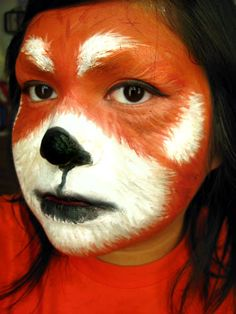 panda makeup | If you plan on doing this legit, make sure you cover you neck! I didn ...