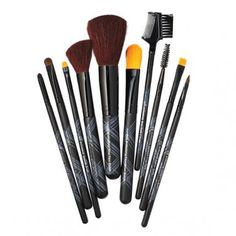 Brushes With Greatness - ELF Cosmetics 10-piece set from #InStyle