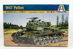 M47 Patton US Army Tank Italeri 6447 1/35 New Armor Model Kit
