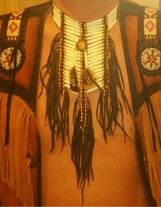 Native American Style Breastplates From Tribal And Western Impressions