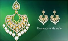 'Kalajee Jewellery' stands for all that spells quality. #Jaipur #Jewelry #Diamonds