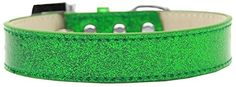 Mirage Pet Products 509-7 EG-14 Lincoln Plain Ice Cream Dog Collar, Emerald Green, Medium *** Check this awesome product by going to the link at the image. (This is an affiliate link and I receive a commission for the sales) #DogLovers