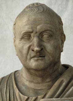 Domitius Ahenobarbus, consul 32 BCE. Rome, Vatican Museums, Chiaramonti Museum, New wing, 112. (Photo by Sergey Sosnovskiy).
