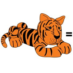 how to make tigger out of fondant