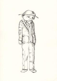 Big old man - Original Ink drawing Old Men, My Etsy Shop, Ink, The Originals, Drawings, Illustrations, Vintage, Illustration, Sketches