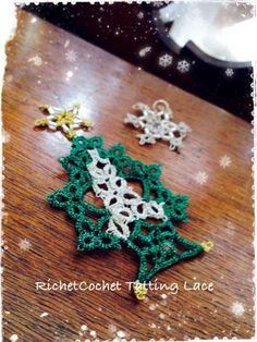 ☆minamiwaさん主催のニットピクニック☆  RichetCochet~~Tatting Lace Ameba (アメーバ)