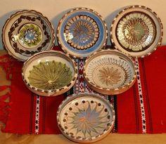 castronele-ceramice-de-horezu World Cultures, Traditional Art, Folk Art, Architecture Design, Objects, Personalized Items, Inspiration, Home Decor, Biblical Inspiration