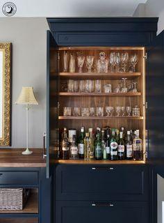 49 ideas home bar interior cabinets for 2019 Bar Interior, Interior Design, Country House Interior, Country Houses, Home Bar Designs, Home Design, Design Ideas, Wet Bar Designs, Design Hotel