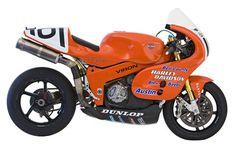 Harley Davidson VR1000 Race Bike - A Sort of Test Bed for the VROD engine