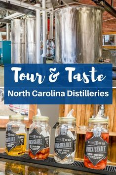 From Wilkesboro to Winston-Salem, people have been distilling in North Carolina for generations. Check out these 5 North Carolina distilleries you can tour today.