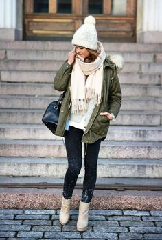 winter outfits fashion, fashion outfits и parka Casual Winter Outfits, Winter Outfits For Teen Girls, Womens Fashion Casual Summer, Winter Outfits Women, Winter Fashion Outfits, Women's Fashion Dresses, Autumn Fashion, Classy Fashion, Fashion Shoes