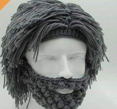 df199b32470 NaroFace Handmade Knitted Men Winter Crochet Mustache Hat Beard Beanies  Face Tassel Bicycle Mask Ski Warm Cap Funny Hat Gift New