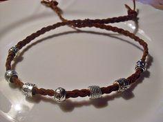 """Dieses Armband gehört zu meiner neuen Kollektion namens """"TIBI""""!  Denn diese süssen Armbänder bestehen jeweils aus 7 Tibetsilber-Perlen.  Tibetsilbe..."""