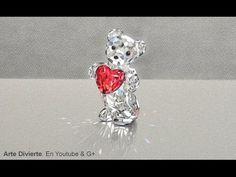 Cómo dibujar un osito de cristal Swarovski - ¡El mejor regalo para el día de las madres, un dibujo! - YouTube
