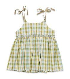 Marie Chantal / Check dress