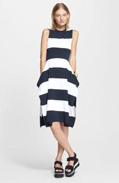 Stripe Crewneck Dress