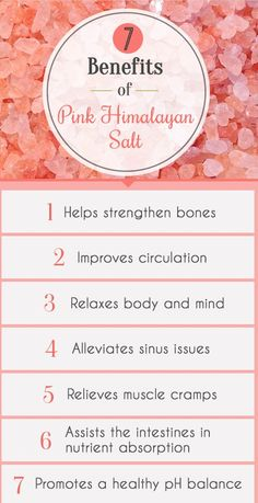 Always opt for Himalayan salt instead of traditional table salt!