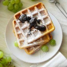 Ciasto kawowe – Zasmakuj Kuchni Waffles, Breakfast, Food, Morning Coffee, Essen, Waffle, Meals, Yemek, Eten
