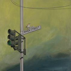 Shop for Lacey Shelton 'Wren Street' Art Print. Get free delivery On EVERYTHING* Overstock - Your Online Children's Clothing Outlet Store! Main Street, Street Art, Street Signs, Wren, City Lights, Wall Lights, Neon Signs, Art Prints, Bff