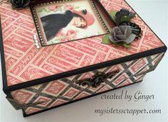 """Graphic 45 """"Mon Amour"""" Boxed Mini Album– ButterBeeScraps.com"""